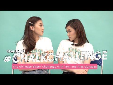 #ChalkChallenge: The Ultimate Sister Challenge With Toni And Alex Gonzaga
