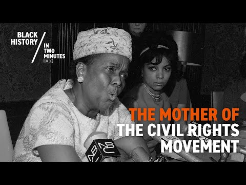 Ella Baker - 'The Mother Of The Civil Rights Movement'