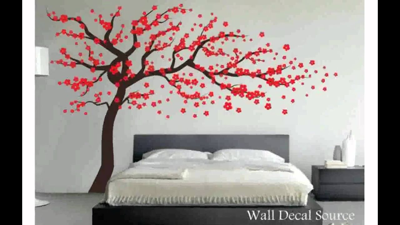 Tree decal for wall youtube amipublicfo Choice Image