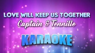 Captain & Tennille - Love Will Keep Us Together (Karaoke & Lyrics)