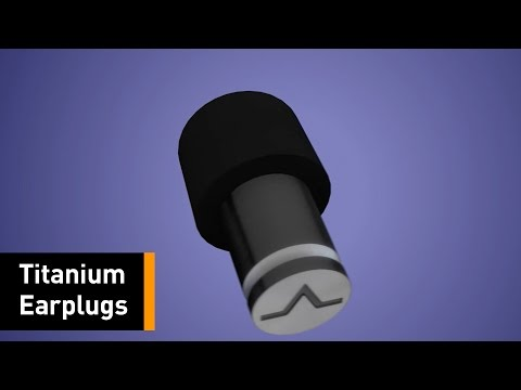 These Titanium Ear Plugs Will Isolate You From Any Noise