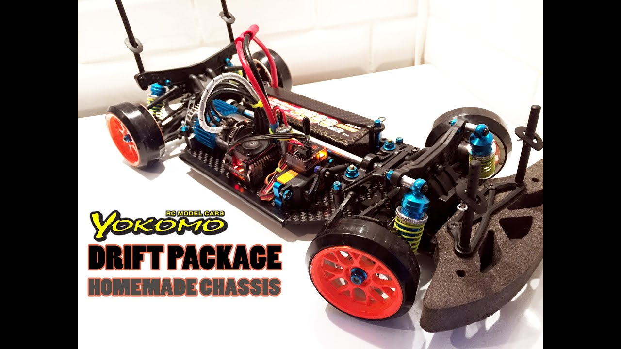 RC DRIFT CAR YOKOMO Drift Package Homemade Chassis