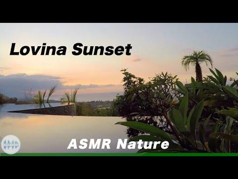 ASMR Sunset Tingles above Lovina   Enjoying Sunset Sounds   Nature #11
