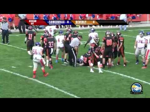 Beverly vs Somerville High School Football