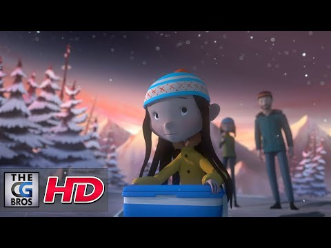 "CGI 3D Animated Short: ""The Girl & the Cloud""  - by Studio AKA/Red Knuckles Production"