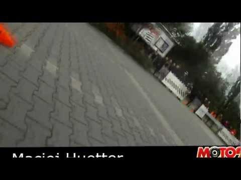 Maciej Huetter, pierwszy przejazd MOTO Challenge 2012 w kategorii GS 500