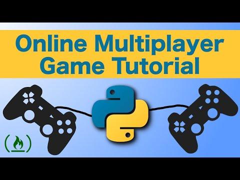 Python Online Multiplayer Game Development Tutorial thumbnail