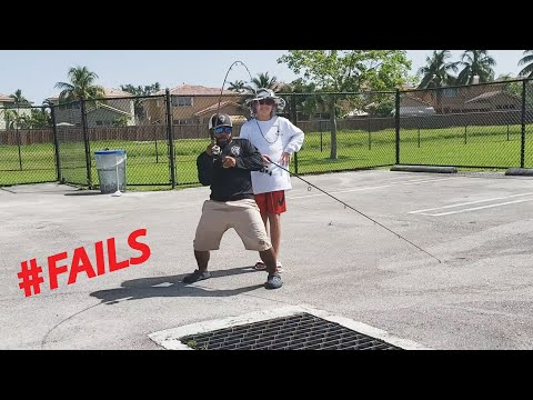 Sewer Fishing And McDonalds FAIL | Monster Mike
