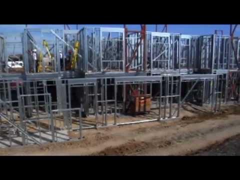 FrameMax Steel Framing System - YouTube