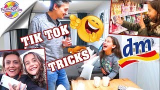 TIK TOK TRICKS TUTORIAL bei DM - BABYSHOWER PARTY Planung  - Family Fun