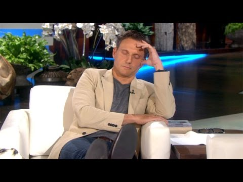 Tony Goldwyn Falls Asleep During His