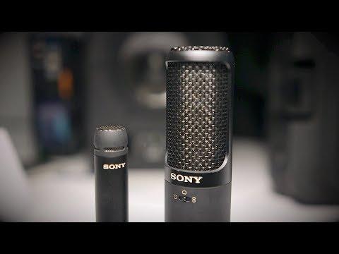 Sony C100, ECM100U & ECM100N - AES 2017