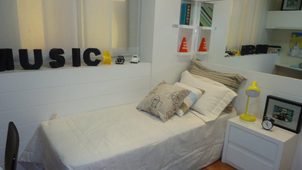 Jogos De Arrumar Quarto Com Closet ~ Arquitetos d?o dicas de como decorar quarto de solteiro  YouTube