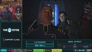 Mass Effect by letterswords in 1:44:22 AGDQ 2018