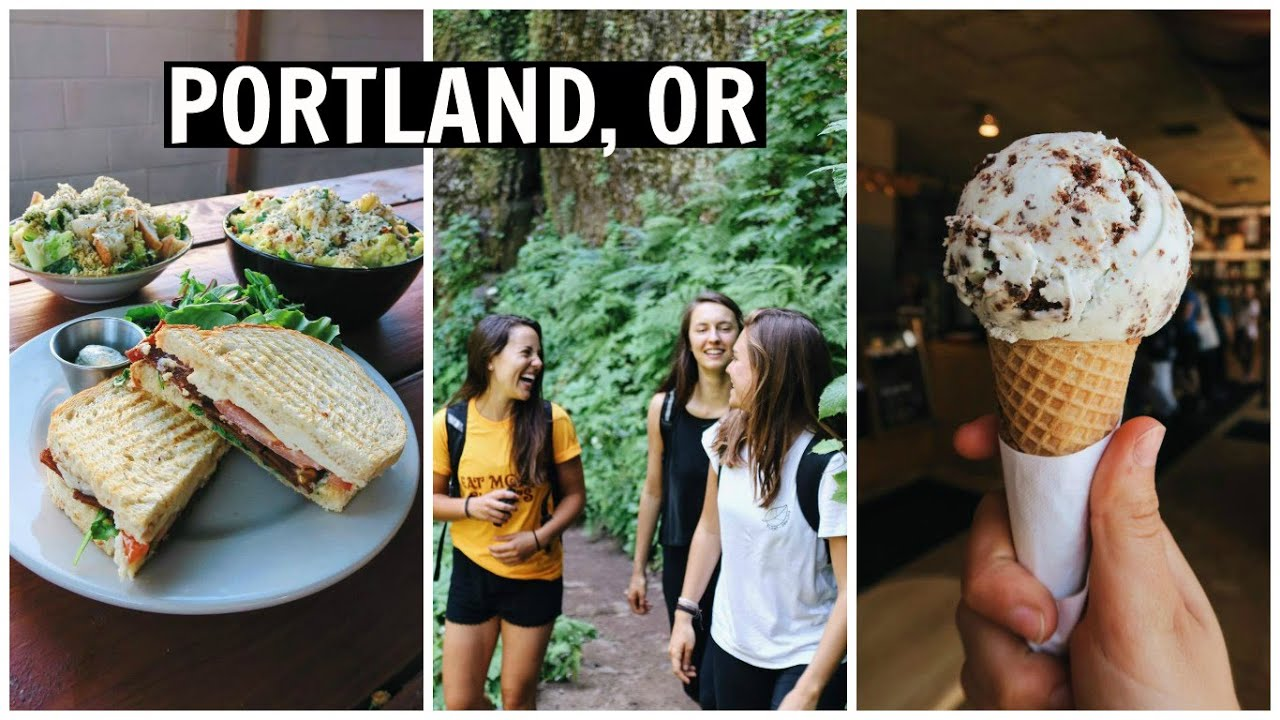 PORTLAND DAY 2 // Hiking and DELICIOUS Vegan Food