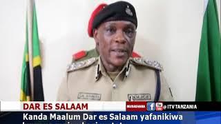 Polisi Dar waua majambazi watatu/Silaha yakamatwa