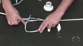 Detalles de como instalar un Foco con su Interruptor (Paso a paso)