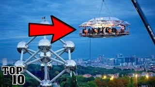 Top 10 Restaurants - Top 10 Craziest Restaurants You Won't Believe Exist