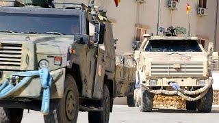 Afghanistan - unterwegs mit dem Transportzug in Kabul