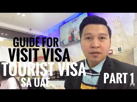 VISIT VISAOR TOURIST VISA TO UAE part 1 (via FB Live)