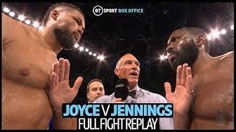 Full fight replay: Joe Joyce v Bryant Jennings