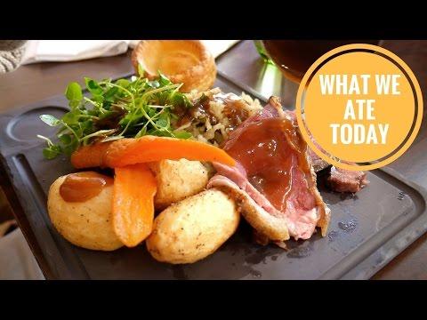 FANCY ROAST DINNER & LONDON SIGHTSEEING!   Food Diaries: What We Ate Today – Yum It