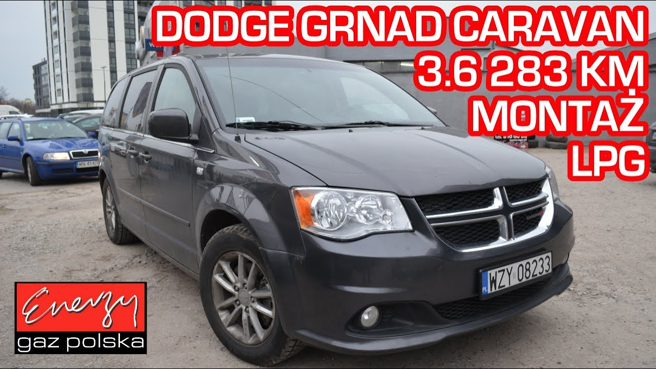 Montaż LPG Dodge Grand Caravan 3.6 283KM 2014r w Energy Gaz Polska na auto gaz BRC SQ P&D!