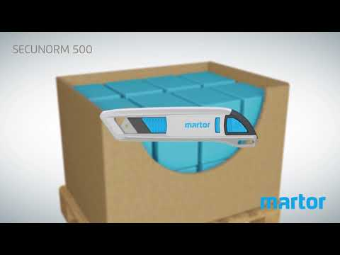 Safety knife MARTOR SECUNORM 500 product video GB