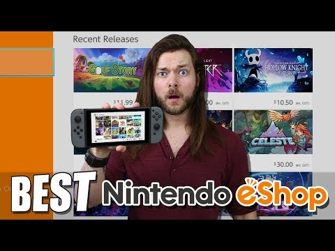 The 10 BEST Nintendo Switch eShop Games SO FAR!