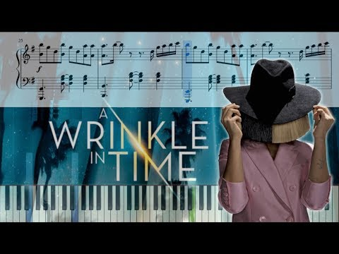 Sia - Magic (Disney's A Wrinkle In Time) - Piano Tutorial + SHEETS