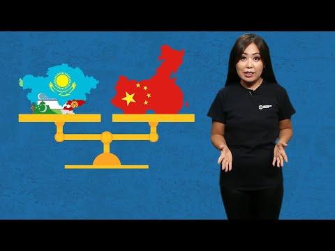 Сколько Центральная Азия