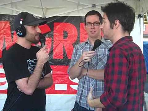 WGRD Chevelle Interview at Carnival of Madness 8-23-2012