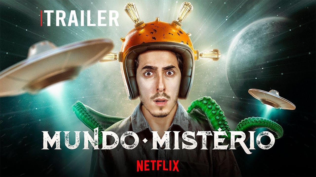 TRAILER MUNDO MISTÉRIO - CASTANHARI NA NETFLIX