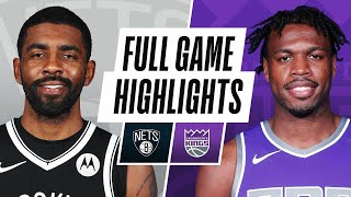 GAME RECAP: <b>Nets</b> 136, Kings 125
