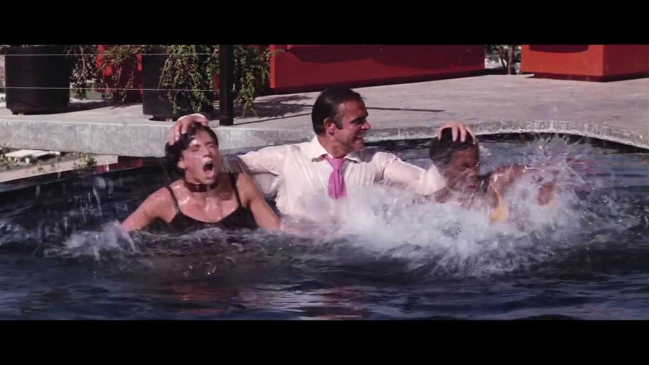 girl woman drowns pool blowjob