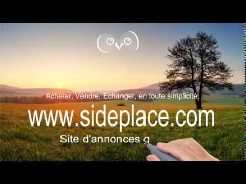sideplace site d 39 annonces gratuites pub 1 youtube. Black Bedroom Furniture Sets. Home Design Ideas