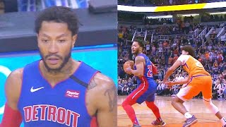 Derrick Rose Shocks Suns With 31 Points After Takeover In Final Minutes! Pistons vs Suns