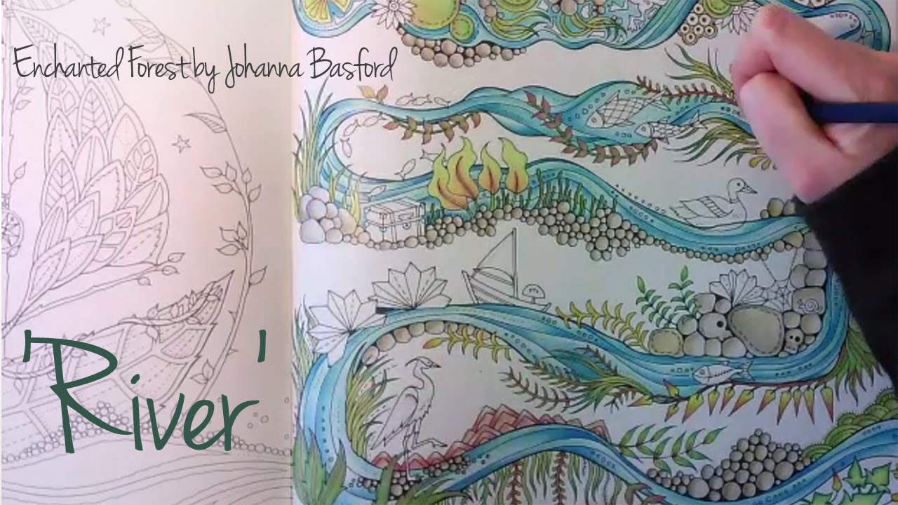 Enchanted forest coloring book youtube - Enchanted Forest Coloring Book Youtube 7