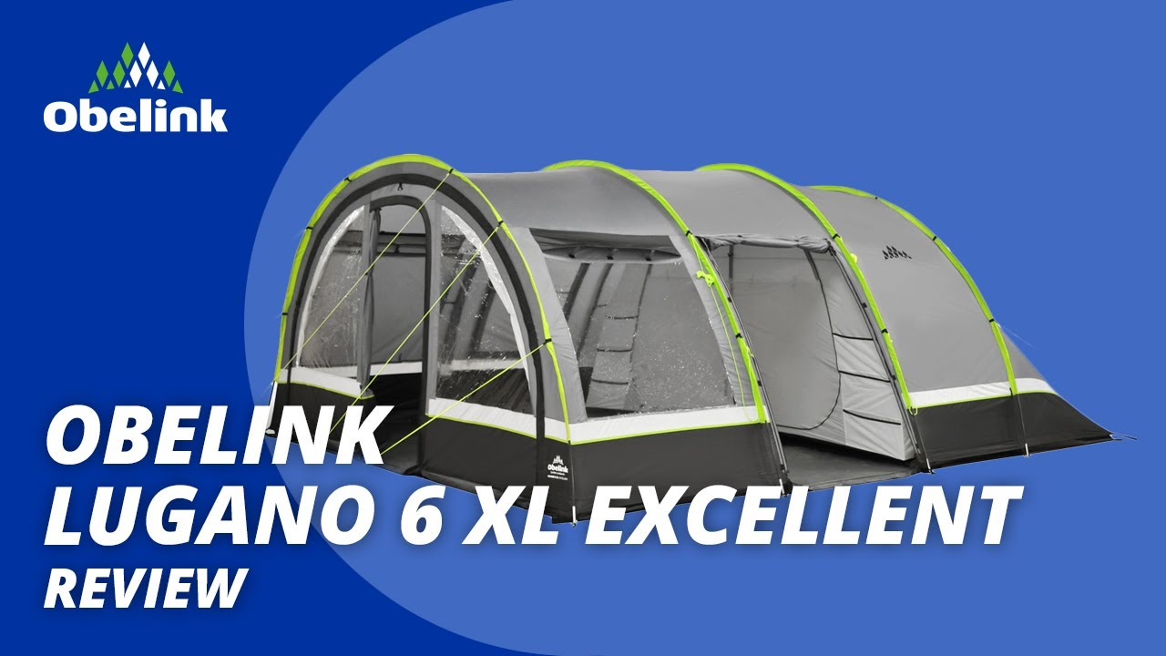 Obelink Lugano 6 XL Excellent tunneltent