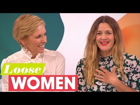Drew Barrymore And Toni Collette On Becoming Bosom Buddies | Loose Women