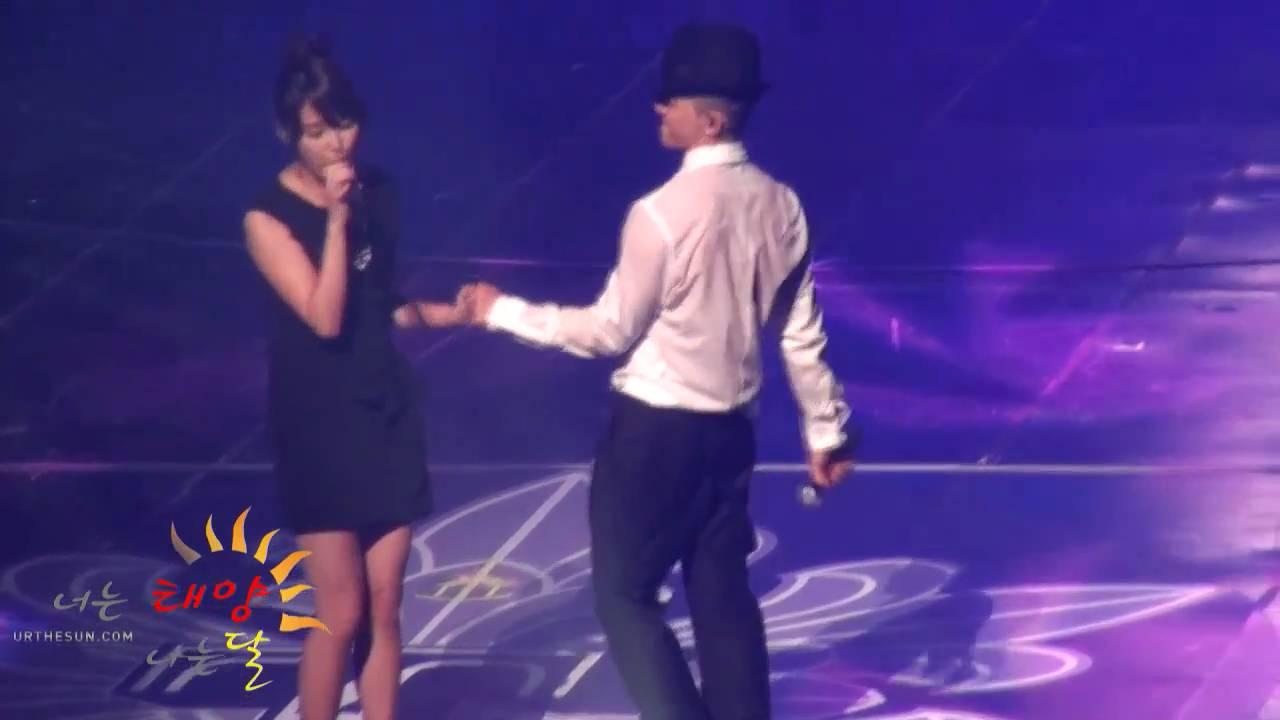 100925 TAEYANG Concert - Slow Jam with IU [fancam]