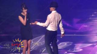 100925 TAEYANG Concert - Slow Jam with IU [fancam]