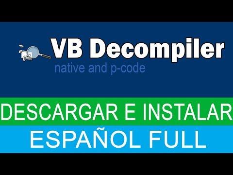 VB Decompiler - Descargar E Instalar Full Español - Decompilador - X32 - X64