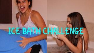 ICE BATH CHALLENGE | The Ramirez Sisters