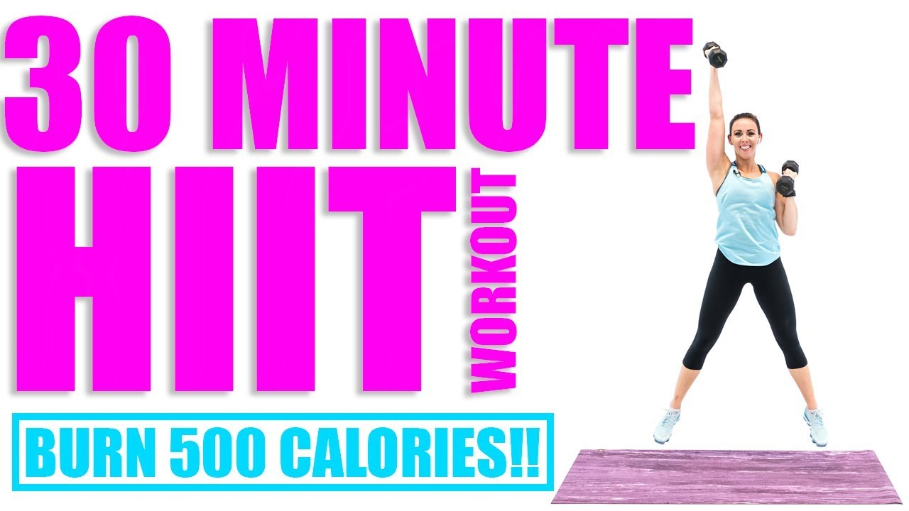 30 Minute Hiit Workout Burn 500 Calories Youtube Circuit Training For Weight Loss Percent More Get