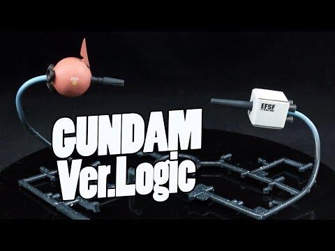 1203 - Gundam Ver.Logic Mini Diorama!
