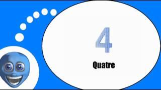 Французского видео урок = Числа составляют от 1 до 9