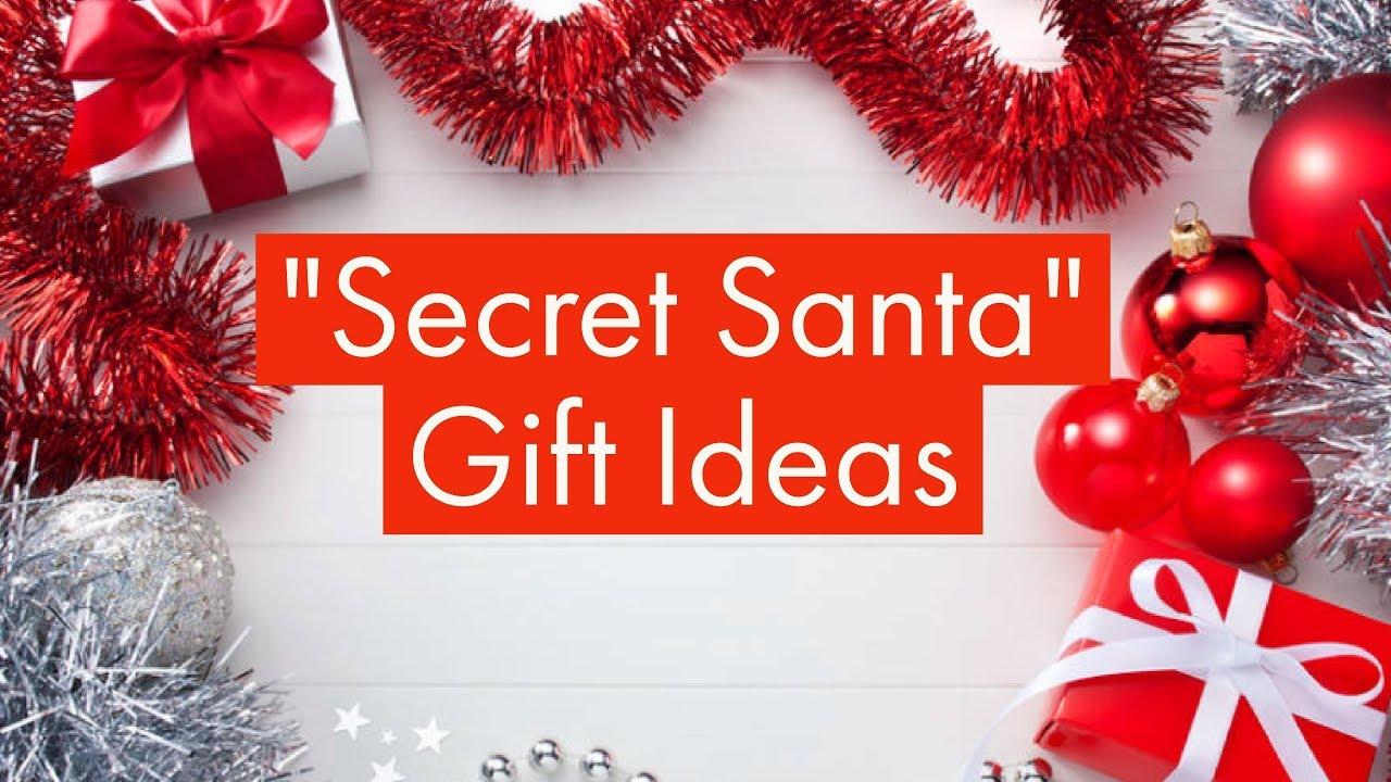 Secret Santa   Gift Ideas   Christmas Gifts - YouTube
