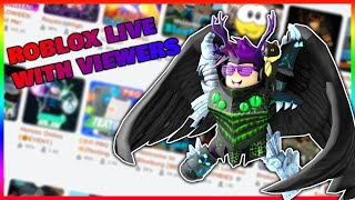 🔴ROBLOX LIVE STREAM | VIEWERS CAN JOIN🔴
