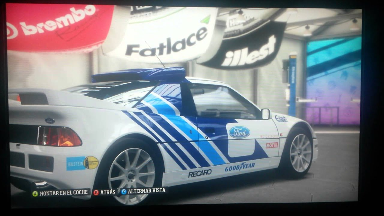 Forza horizon design ford rs200 rally car
